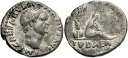 Ancient Coins - Vespasian. A.D. 69-79. AR denarius. Rome, A.D. 71. Nearly EF.
