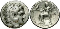 Ancient Coins - Macedonian Kingdom. Philip III. 323-317 B.C. AR tetradrachm. 'Babylon'. Good Fine.