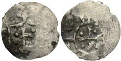 World Coins - Russia / Lithuania. Vladimir Olgerdovich. 1362-1394. AR denarius. VF. Very rare.