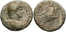 Roman Egypt. Hadrian. A.D. 117-138. BI tetradrachm. Near VF.
