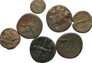 Ancient Coins - [Greek]. Lot of seven Æ of Pontos.
