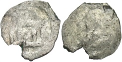 World Coins - Lithuania. Witold. 1392-1430. AR denar. Near Fine, small edge chip. Rare.