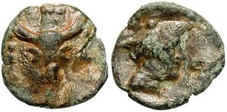 Ancient Coins - Thrace, Chersonnesos. Ca. late 3rd century B.C. Lead tessera. Fine. Rare and unusual.