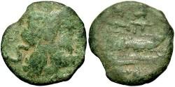 Ancient Coins - Anonymous. 2nd century B.C. Æ semis. Fine.