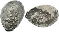 Russia. Ioan III. 1503-1537. AR Denga. Toned. VF.
