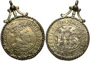 World Coins - Danzig. Sigismund III. 1620. Gold plated ort. Fine.