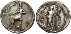 Ancient Coins - Cilicia, Nagidos. Ca. 360-333 B.C. AR stater. Toned VF.