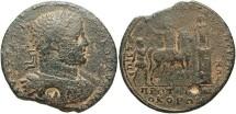 Ancient Coins - Mysia, Pergamum, Caracalla. A.D. 198-217. Æ medallion. Fine, brown patina.