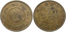 World Coins - China, Kwangtung. 1916. 1 cent. EF.