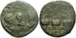 Ancient Coins - Bithynia, Nicaea, Valerian i, Gallienus, & Valerian II. A.D. 253-260. Æ 25 mm. Fine.