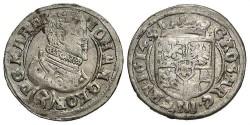 World Coins - Germany, Jagendorf. Johann Georg. 1614. 3 Kreuzer. VF.