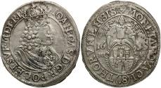 World Coins - Poland, Thorn. Johann Casimir. 1655-HI L. AR Ort. VF.