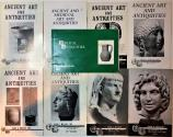 Ancient Coins - Ancient Art and Antiquities. Alex J. Malloy - Set of 9 catalogs.