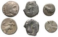 Ancient Coins - [Greek]. Lot of three AR.