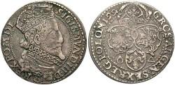 World Coins - Poland. Sigismund III. 1599. 6 Groszen. Toned VF.