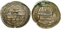 World Coins - Abbasid. Al-Rashid. A.H. 170-193 (A.D. 786-809). AR dirhem. Madinat Zaranj. Toned VF. $90