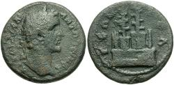 Ancient Coins - Pisidia, Selge. Antoninus Pius. A.D. 138-161. Æ. VF, dark green patina.