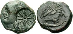 Ancient Coins - Thrace, Pantikapaion, Ca. 4th-3rd Century B.C. ' 21 mm. VF.
