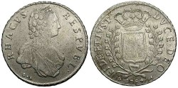 World Coins - Ragusa. 1794. Libertina. VF.