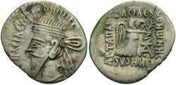 Ancient Coins - Parthian Kingdom, Vorones I. A.D. 8-12. AR drachm. Fine.