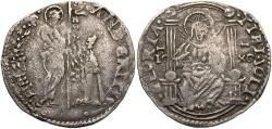 World Coins - Italy, Venice. Andrea Gritti. 1523-1528. AR mocenigo. Near VF, toned.
