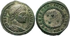 Ancient Coins - Constantine I. A.D. 307-337. AE 3. Good VF. Siscia