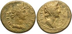 Ancient Coins - Mysia, Pergamum. Pseudo-autonomous issue. Mid 1st century A.D. Æ. Fine.