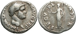 Ancient Coins - Otho. A.D. 69. AR denarius. Rome. Good Fine, bold portrait. Scarce.