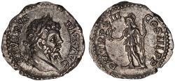 Ancient Coins - Septimius Severus Ar. denarius (205 AD)