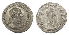 Ancient Coins - Macrinus (AD 217-218), Ar. denarius