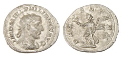 Ancient Coins - Philip I Ar. antoninianus