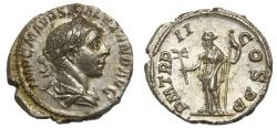 Ancient Coins - Severus Alexander Ar. denarius