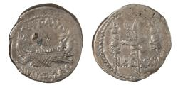 Ancient Coins - Marc Antony Legionary Ar denarius