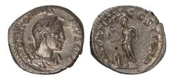 Ancient Coins - Elagabalus Ar denarius