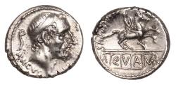 Ancient Coins - L. Marcius Philippus Ar. denarius (56 BC)