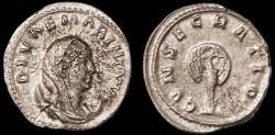 Ancient Coins - Mariniana Ar. antoninianus (253 - 254 AD)