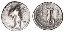 Julius Caesar Ar. denarius (44 BC)