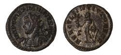 Ancient Coins - Maximianus silvered antoninianus