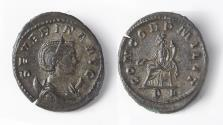Ancient Coins - Severina Billon Antoninianus (AD 274-275)