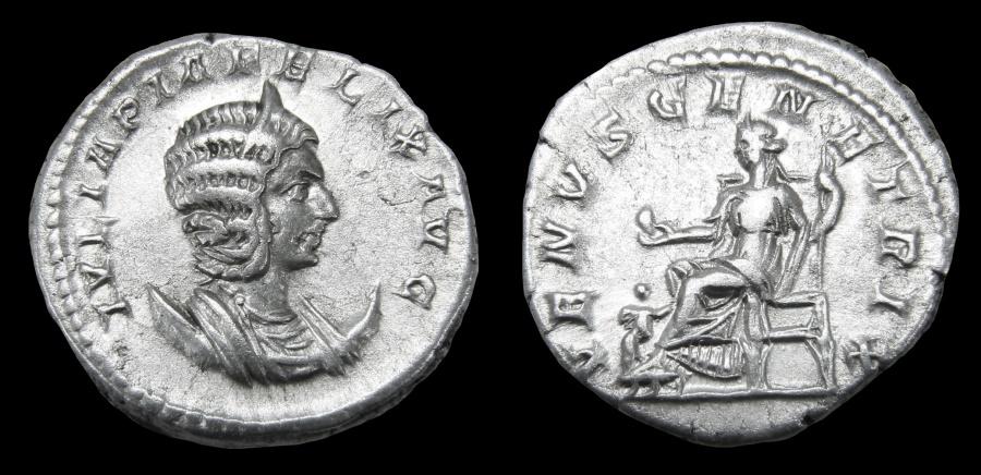 Ancient Coins - Julia Domna Ar. antoninianus (under Caracalla)