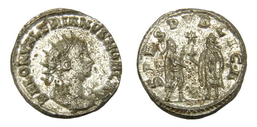 Ancient Coins - Saloninus Ar. antoninianus