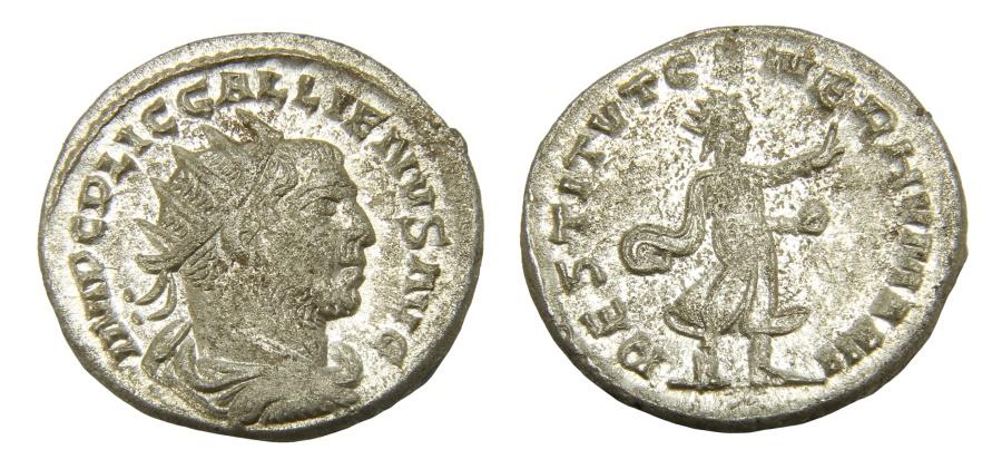 Ancient Coins - Gallienus Ar. antoninianus