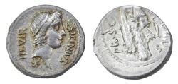 Ancient Coins - Q. Sicinius and C. Coponius Ar. denarius