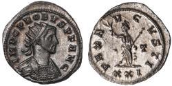 Ancient Coins - Probus billon antoninianus (276 - 282 AD)