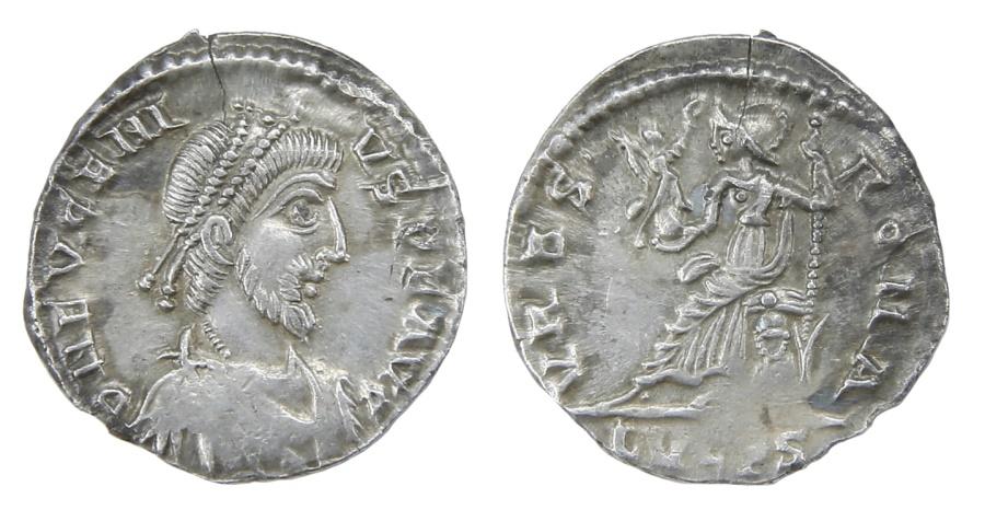 Ancient Coins - Eugenius Ar. siliquae