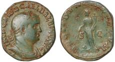 Ancient Coins - Balbinus Ae. sestertius (238 AD)