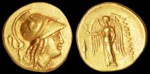 Ancient Coins - Alexander the Great Au. stater (333 – 332 BC)