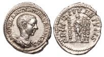 Diadumenian Ar. denarius