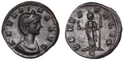 Ancient Coins - Severina billon denarius