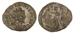 Ancient Coins - Victorinus, Mint I, Issue III c, Antoninianus